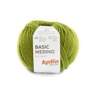 Katia Basic Merino nr.90 Kleur: Kaki Groen