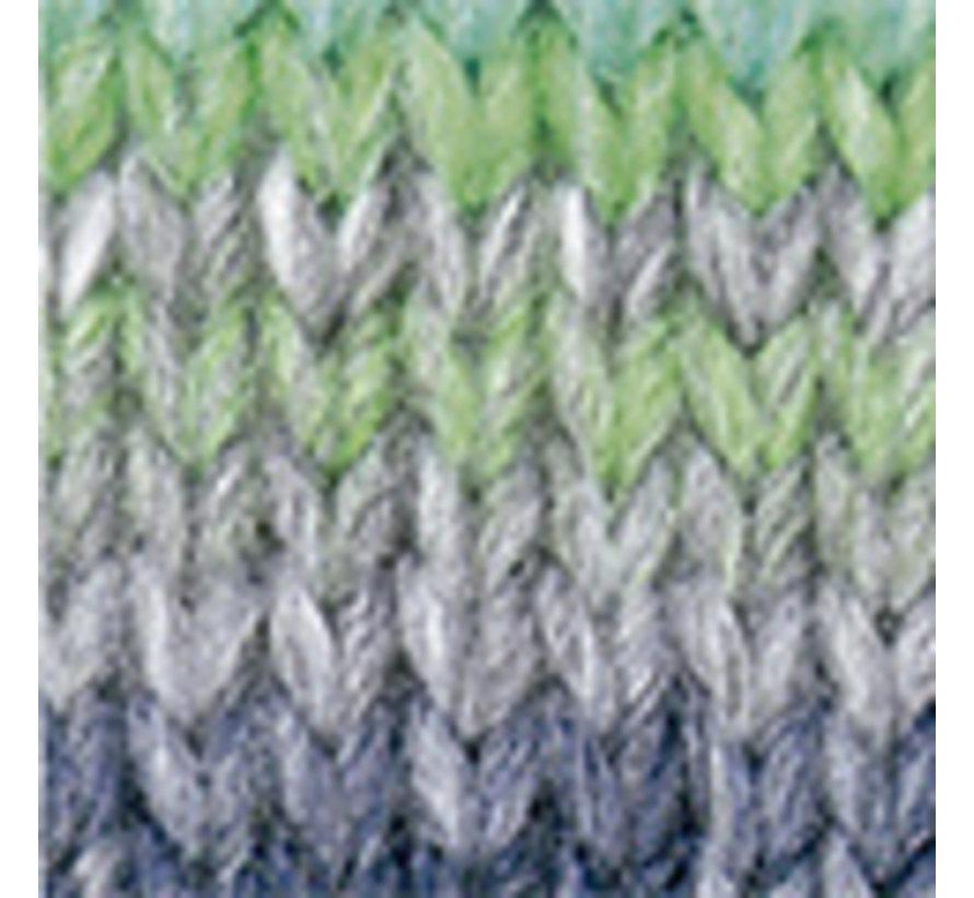 Azteca nr.7863 Kleur: Grijs-Groen-Blauw