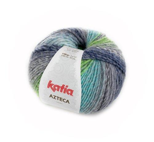 Katia Azteca nr.7863 Kleur: Grijs-Groen-Blauw