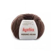 Katia Merino Aran nr.46 Kleur: Donker Bruin