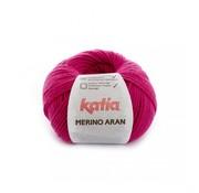 Katia Merino Aran nr.52 Kleur: Fuchsia