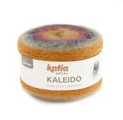 Katia Kaleido nr.308 Kleur: Bordeauxpaars-Licht oranje-Grijs