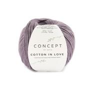 Katia Cotton in Love nr.54 Kleur: Aubergine