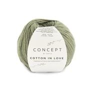 Katia Cotton in Love nr.59 Kleur: Bleekgroen