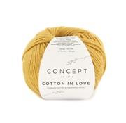 Katia Cotton in Love nr.60 Kleur: Oker