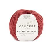 Katia Cotton in Love nr.61 Kleur: Rood
