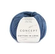 Katia Cotton in Love nr.63 Kleur: Blauw-Groenblauw
