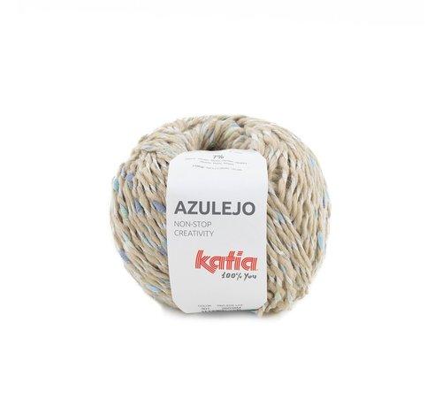 Katia Azulejo nr. 301 Kleur: Beige-Blauw-Geelgroen