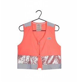 Gofluo Fluo roze glitter