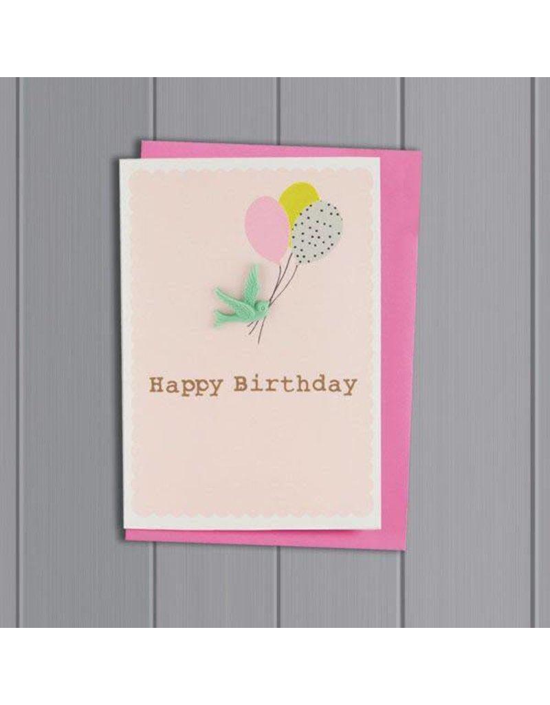 Petra Boase Happy birthday vogel