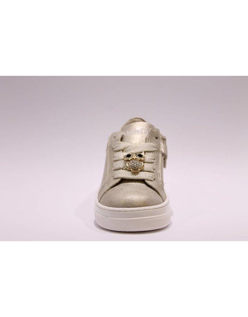 Andrea Morelli sneaker goud/goud glitter