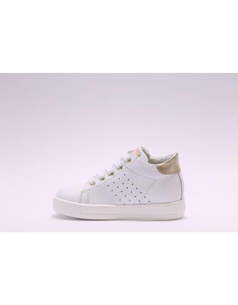 Falcotto Sneaker wit/goud hart