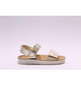Naturino sandaal goud/kant