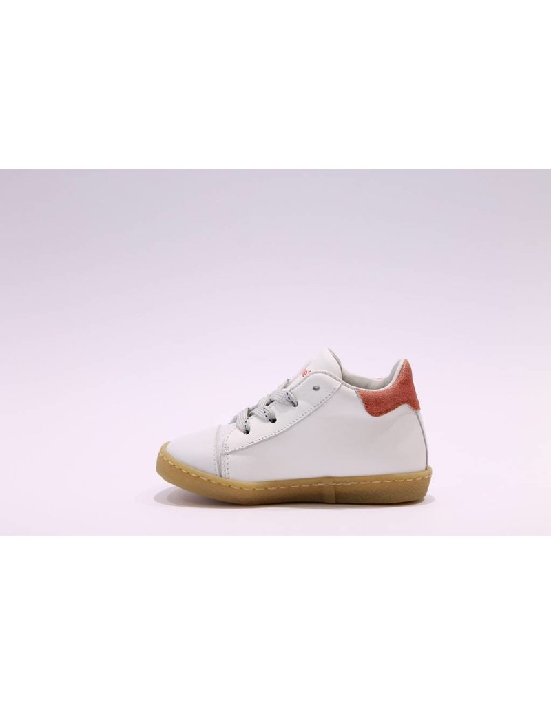 Rondinella sneaker 1936 wit/rood