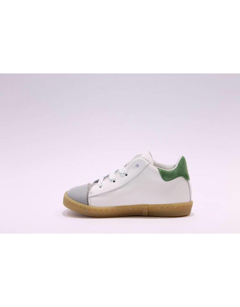 Rondinella sneaker 1936 wit/groen