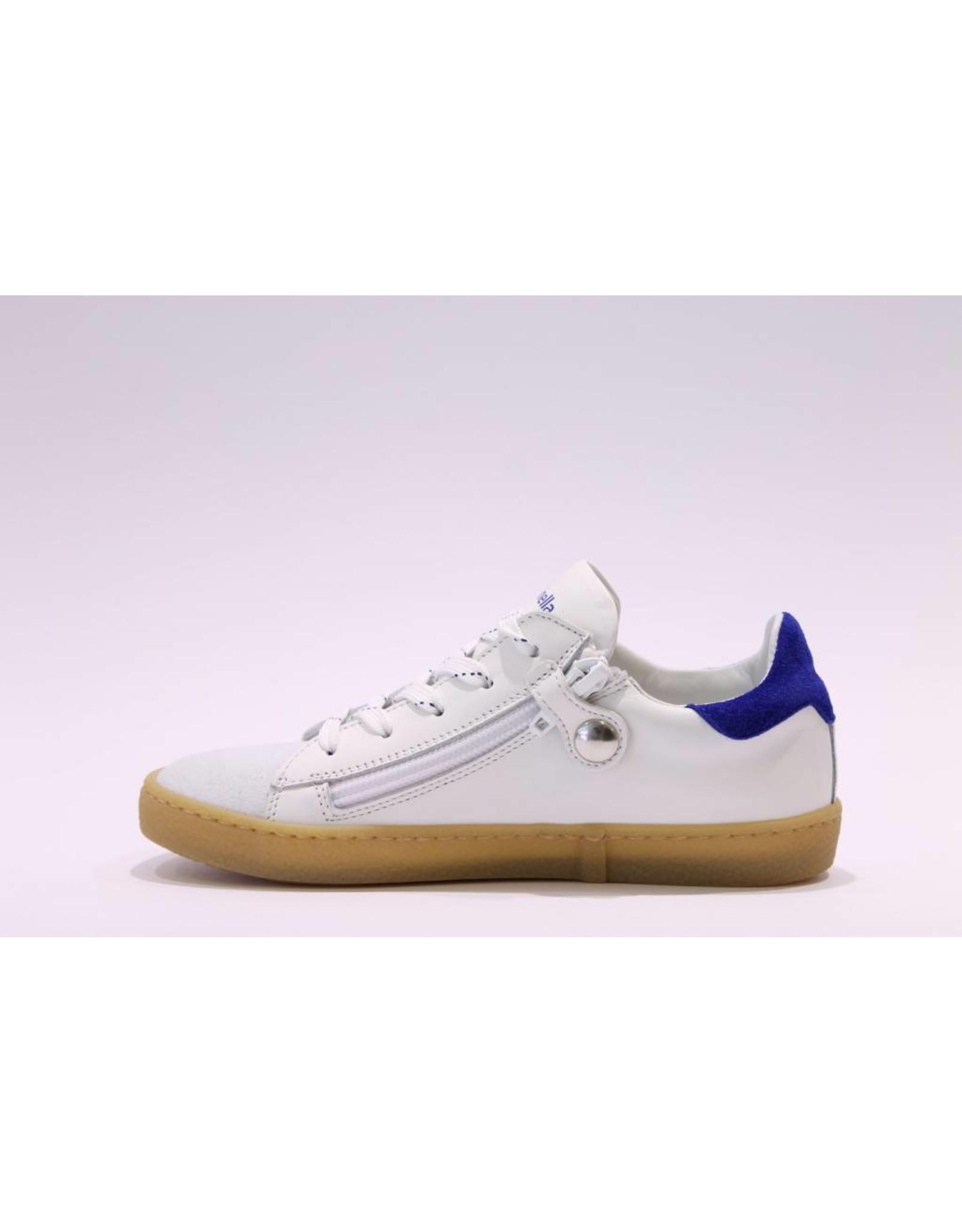 Rondinella sneaker 1936 laag wit/blauw