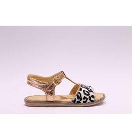 Rondinella sandaal roze/leopard