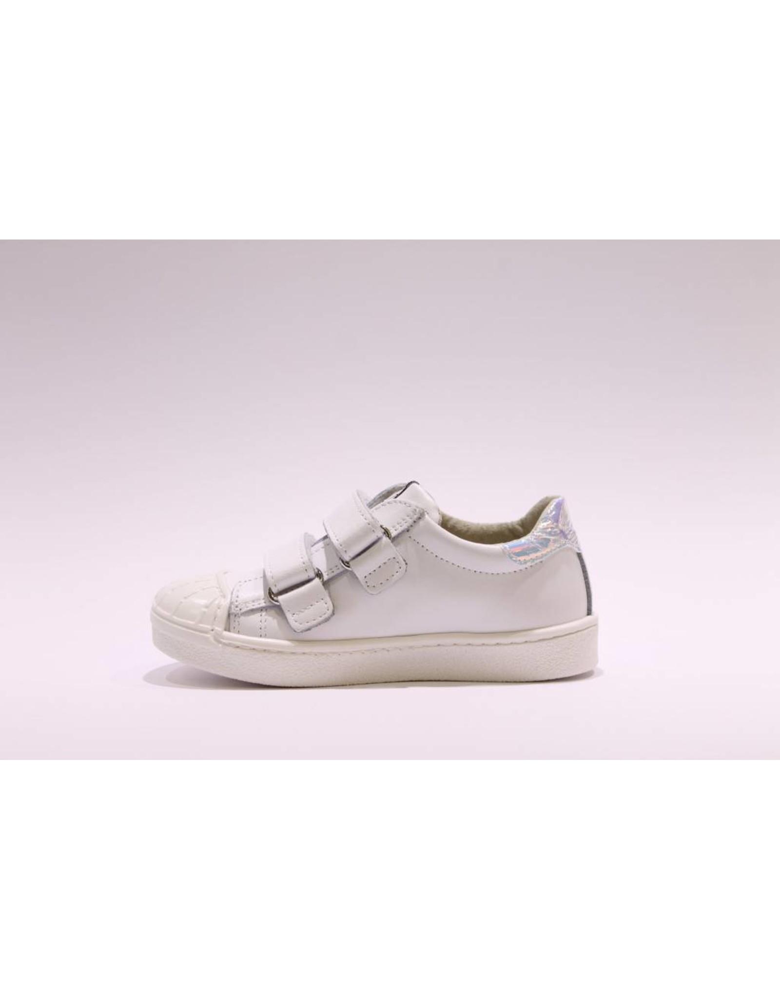 sho.e.b. sneaker parelmour wit velcro