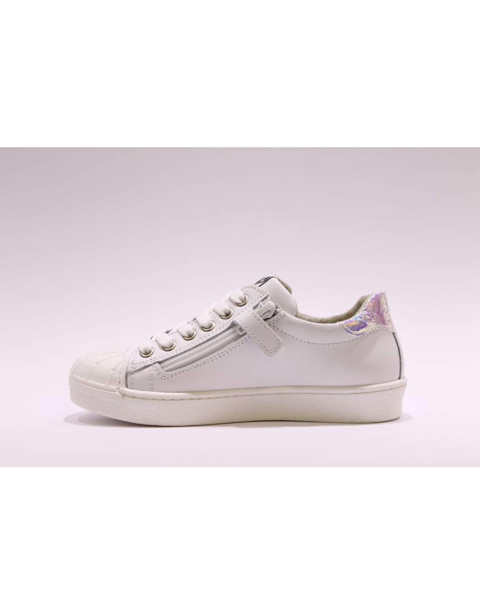 sho.e.b. sneaker parelmour wit