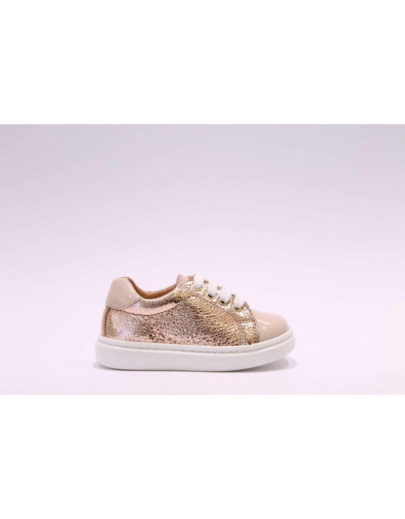 Clarys sneaker rosé/beige lak tip