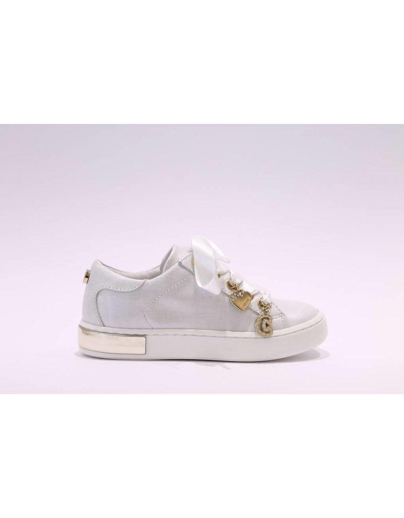 Chérie Sneaker metallic grijs