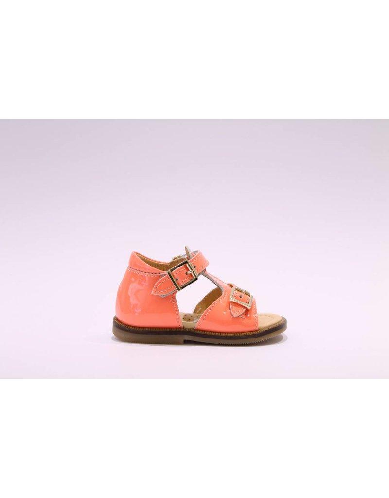 Ocra sandaal oranje gesp