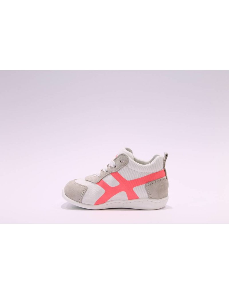 Rondinella Runner mini wit/fuchsia