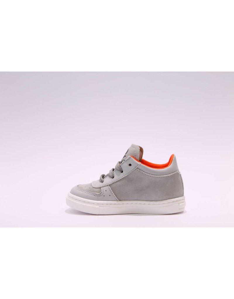 Rondinella sneaker grijs/neon