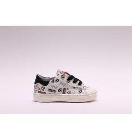 RedRag Sneaker wit/zwart print