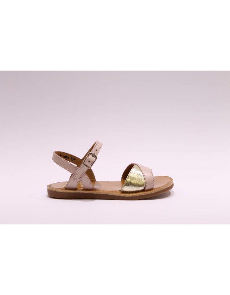Pom d'Api Sandaal roze/goud