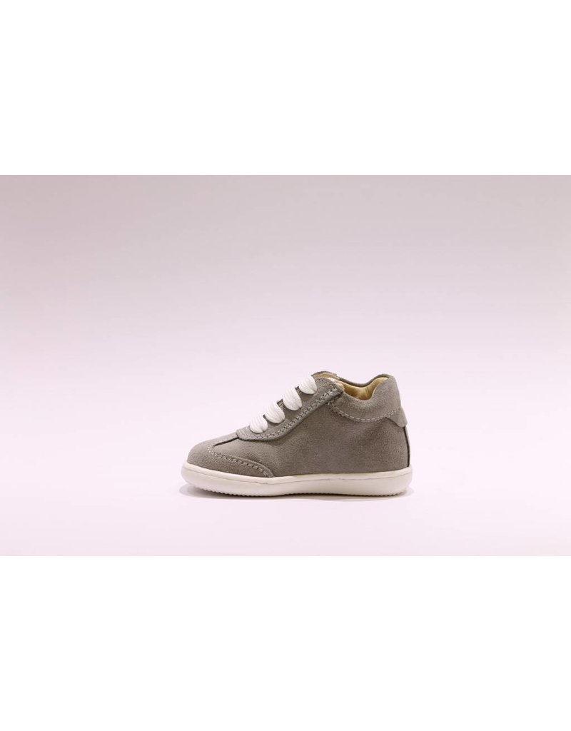 Lunella eerstestap grijs/wit