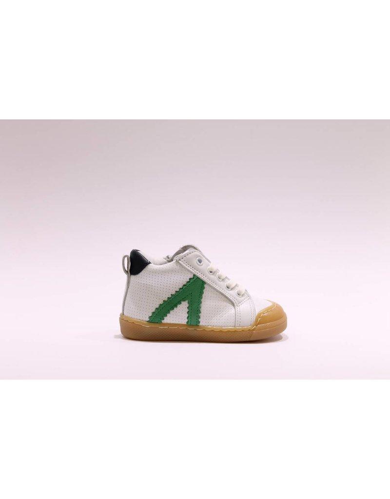 Develab sneaker wit/groen
