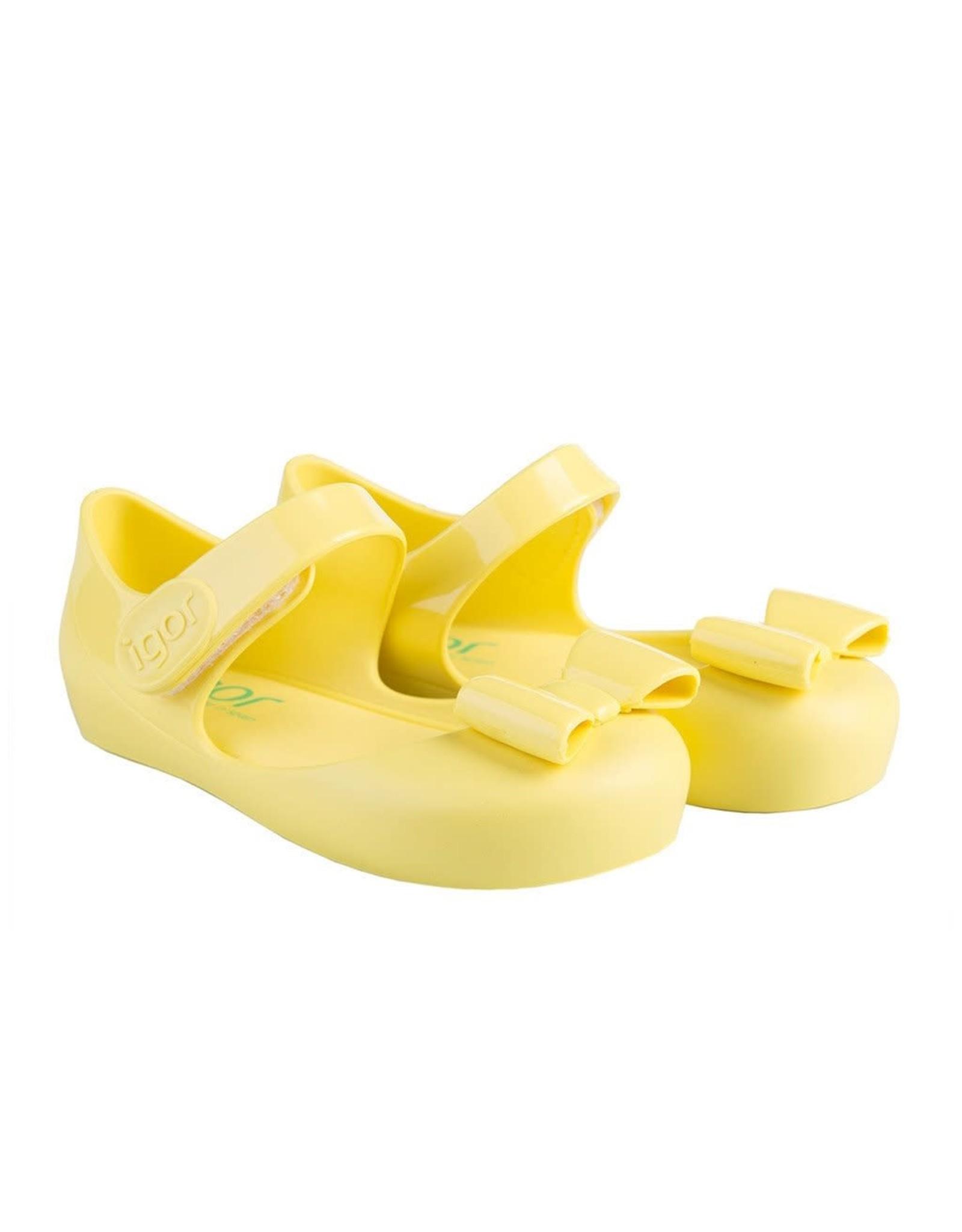 Igor waterschoentje geel