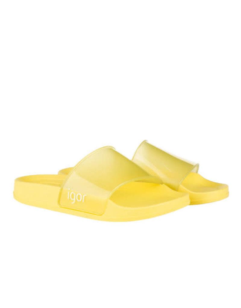 Igor slipper geel