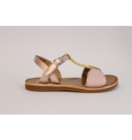 Pom d'Api sandaal roze strik