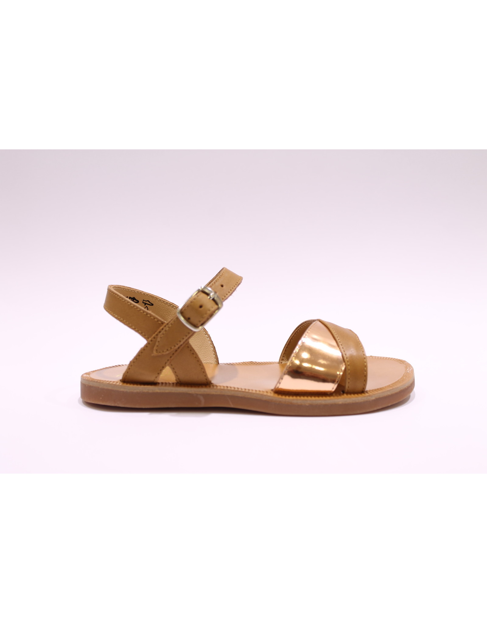 Pom d'Api Sandaal camel/bronze
