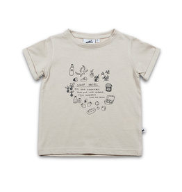 Cos I Said So t-shirt grijs 'shop small'