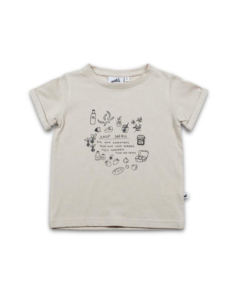 Cos I Said So t-shirt grijs 'shop small'
