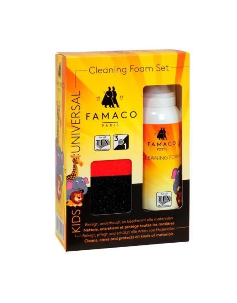Famaco cleaning foam set KIDS
