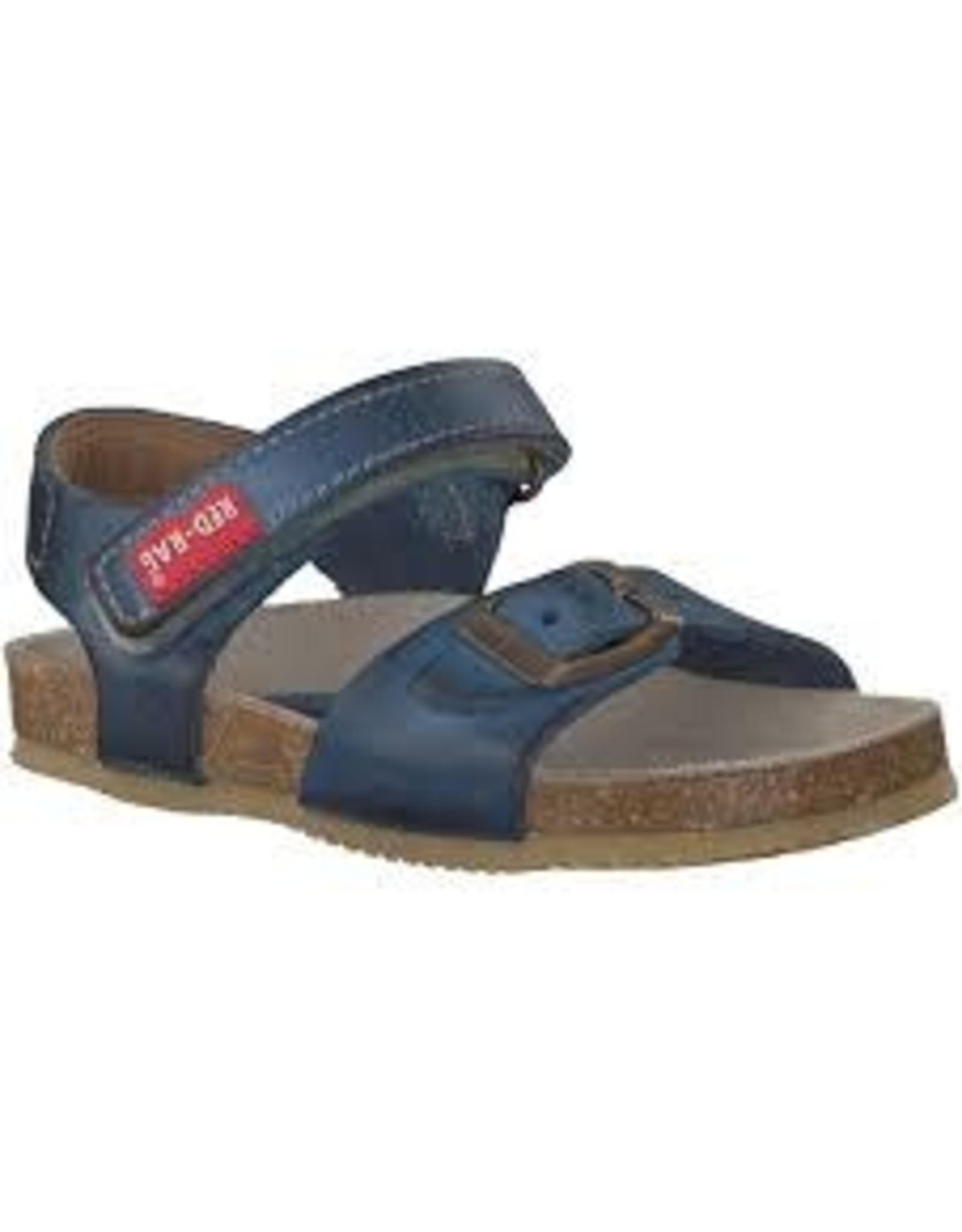 RedRag sandaal blauw velcro