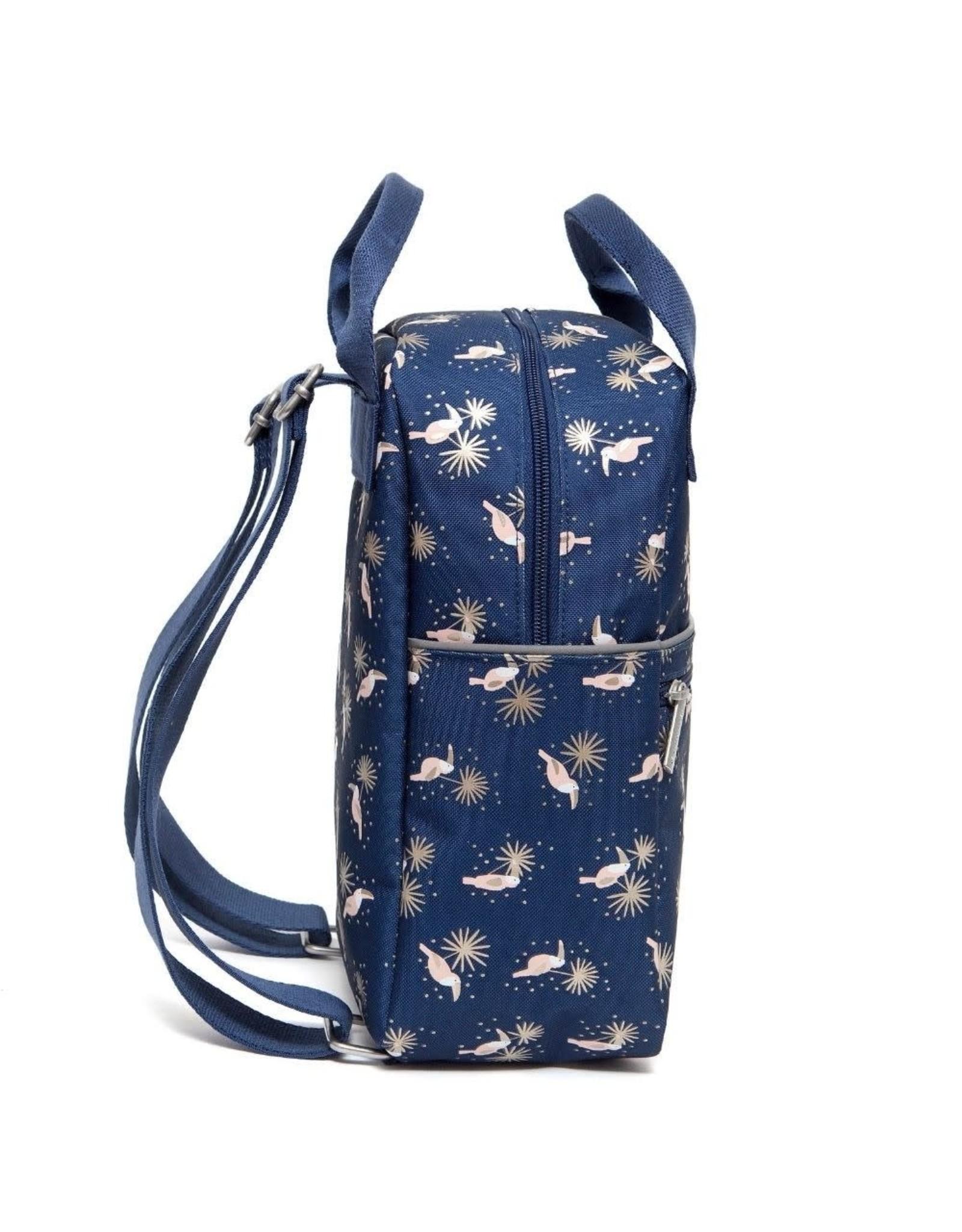 Petit Monkey Rugzak blauw toucan