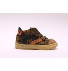Rondinella sneaker bruine ruit