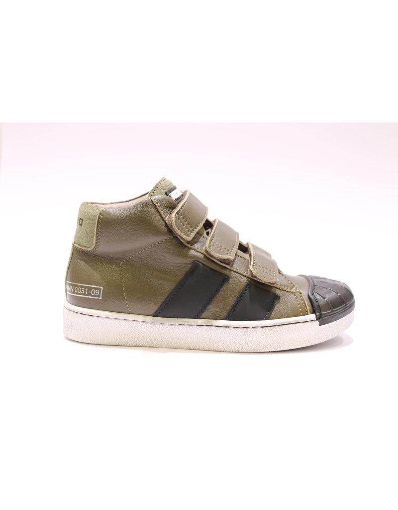 Momino sneaker velcro kaki