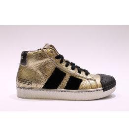 Momino sneaker goud/zwart