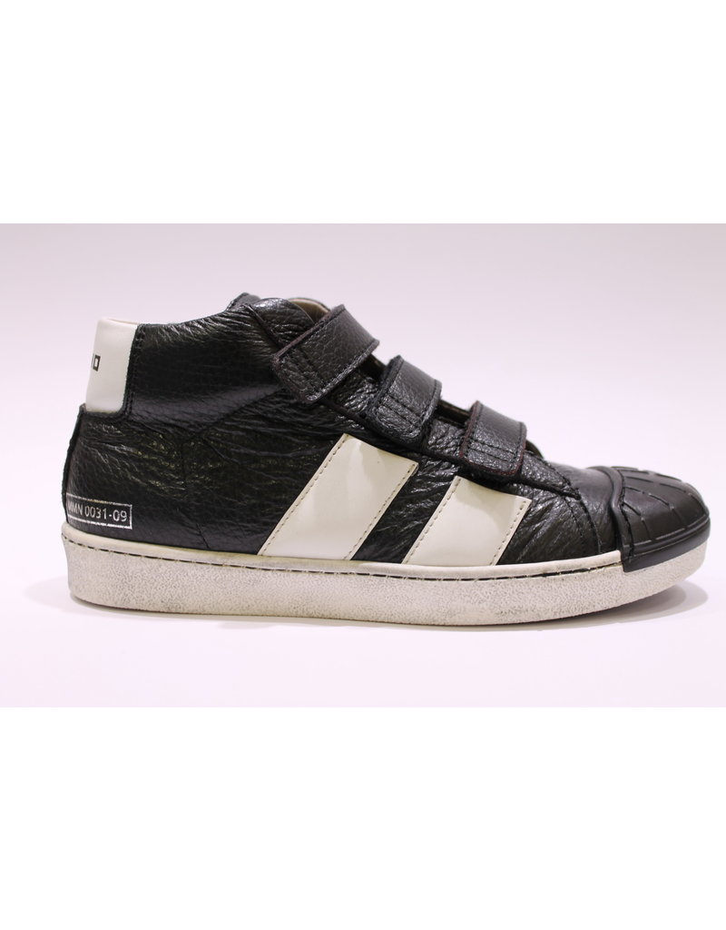 Momino sneaker velcro zwart