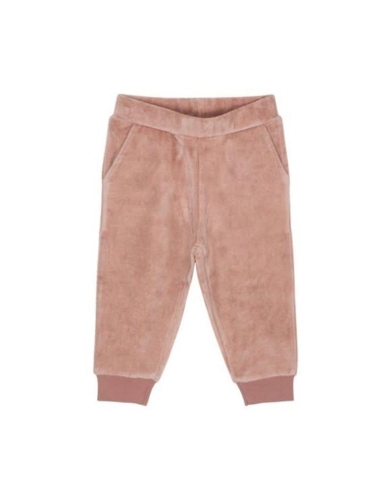 Petit by Sofie Schnoor broek roze fluweel
