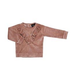 Petit by Sofie Schnoor trui roze fluweel