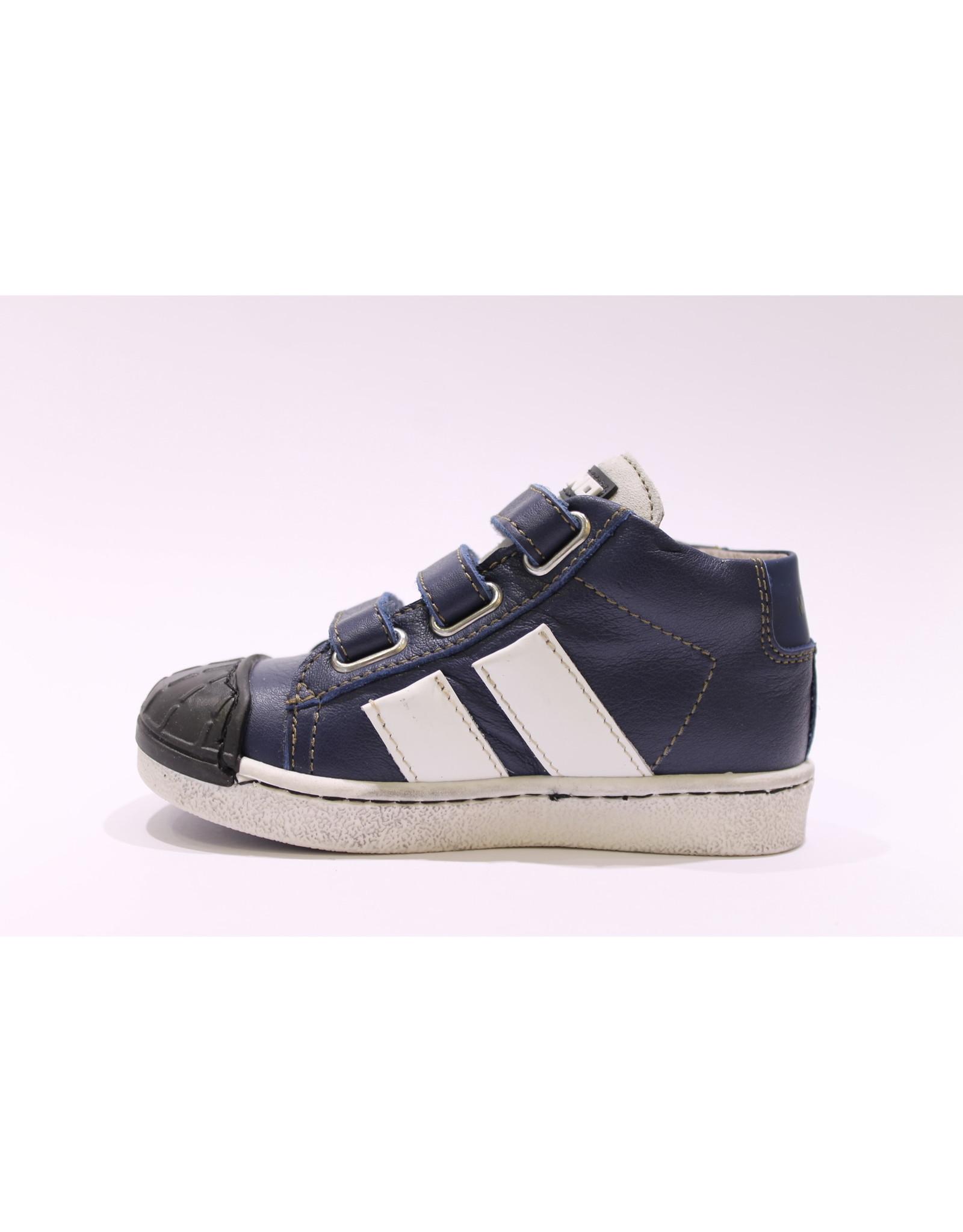 Momino sneaker velcro blauw