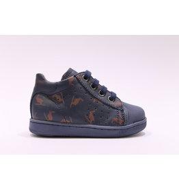 Falcotto sneaker blauw print