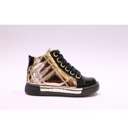 Chérie sneaker zwart/roze